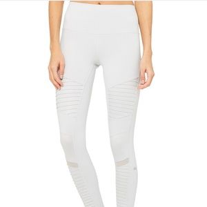 Dove grey Alo yoga motto leggings